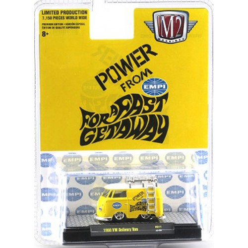 M2 Machines Hobby Exclusive - 1960 Volkswagen Delivery Van
