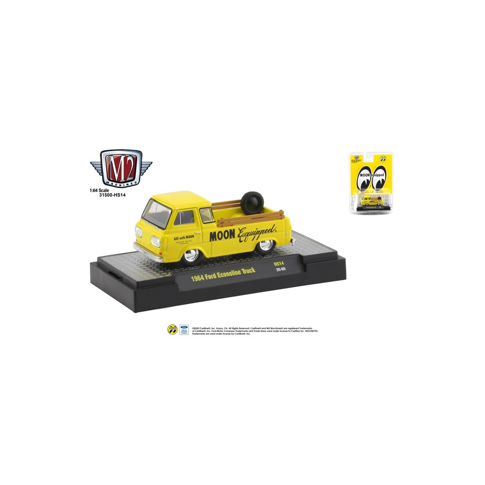M2 Machines Hobby Exclusive - 1964 Ford Econoline Truck Mooneyes