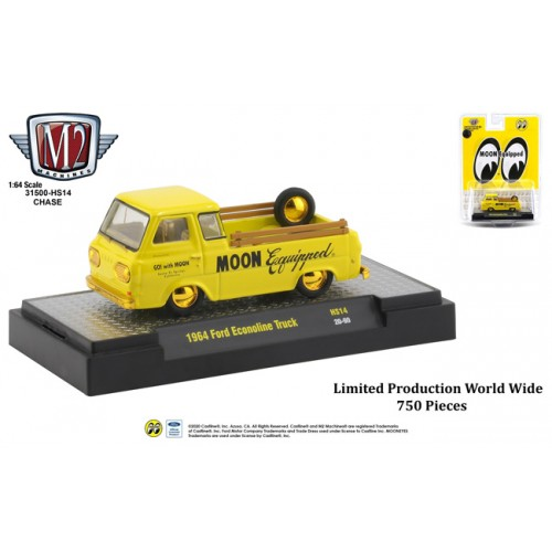 M2 Machines Hobby Exclusive - 1964 Ford Econoline Truck CHASE VERSION