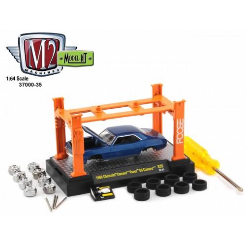 M2 Machines Model-Kits Release 35 - 1969 Chevy Camaro