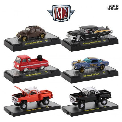 M2 Machines Auto-Thentics Release 62 - Six Car Set