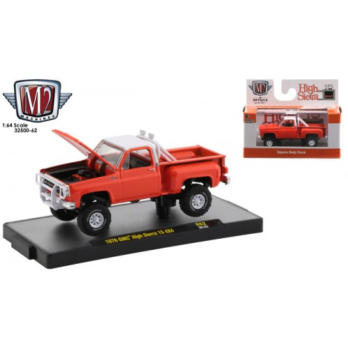 M2 Machines Auto-Thentics Release 62 - 1976 GMC High Sierra 4x4