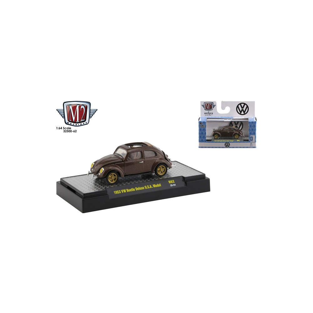 M2 Machines Auto-Thentics Release 62 - 1963 Volkswagen Beetle Deluxe