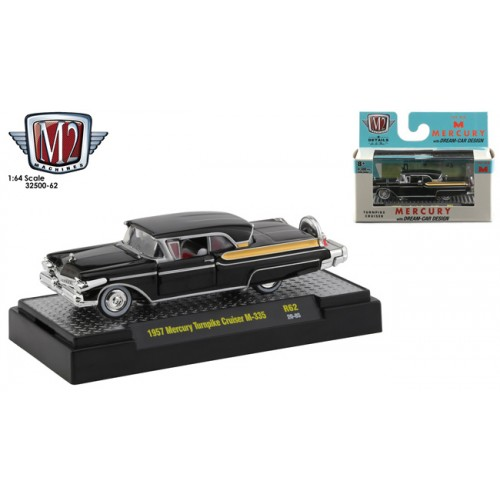M2 Machines Auto-Thentics Release 62 - 1957 Mercury Turnpike Cruiser M-335