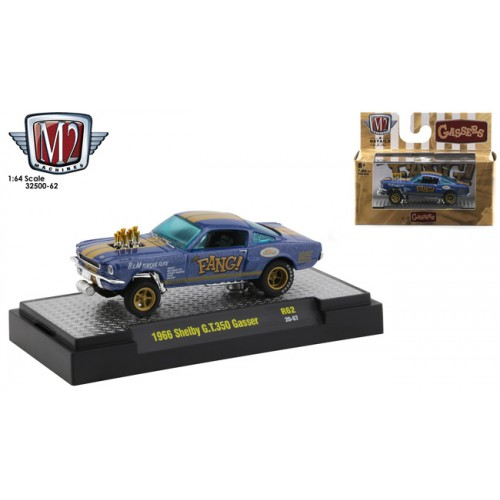 M2 Machines Auto-Thentics Release 62 - 1966 Shelby G.T. 350 Gasser