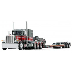 DCP by First Gear - Peterbilt Model 389 with Fontaine Tri-Axle Lowboy Trailer