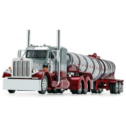 DCP by First Gear - Peterbilt 359 with Polar Deep Drop Trailer