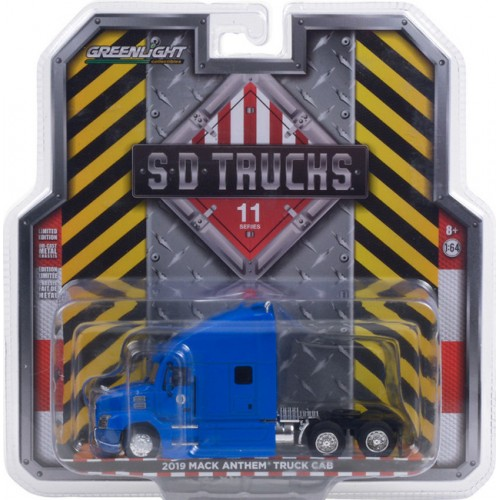 Greenlight S.D. Trucks Series 11 - 2019 Mack Anthem Truck Cab