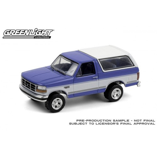 Greenlight Blue Collar Series 8 - 1992 Ford Bronco XLT