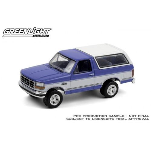 Greenlight Blue Collar Series 8 - 1992 Ford Bronco XLT