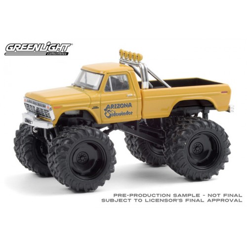 Greenlight Kings of Crunch Series 8 - 1975 Ford F-250 Monster Truck Arizona Sidewinder
