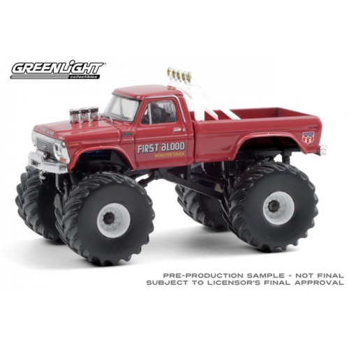 Greenlight Kings of Crunch Series 8 - 1978 Ford F-250 Monster Truck First Blood