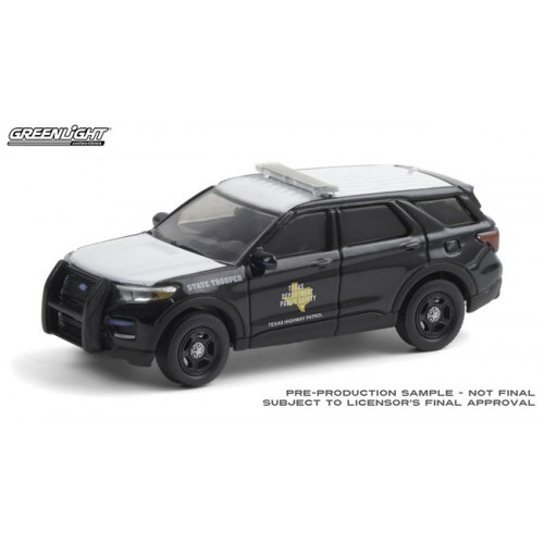 Greenlight Hot Pursuit Hobby Exclusive - 2020 Ford Police Interceptor Utility Texas Highway Patrol