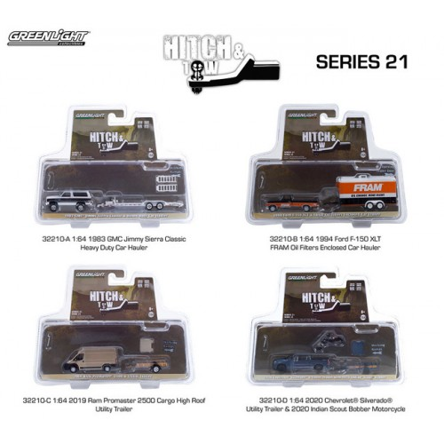 Greenlight Hitch and Tow Series 21 - SET