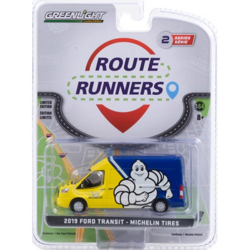 Greenlight Route Runners Series 2 - 2019 Ford Transit Michelin Tires