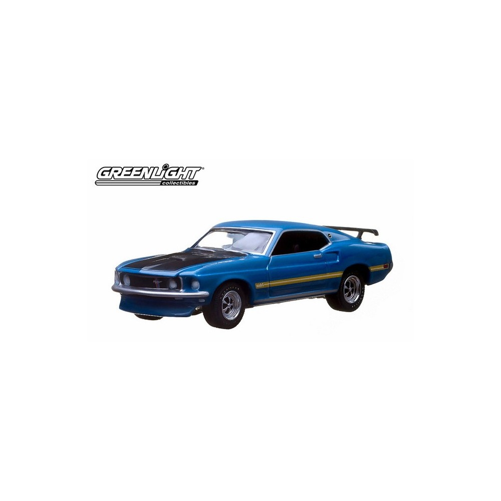 Greenlight 10th Anniversary Hobby Exclusive 1969 Ford Mustang Fastback Mach 2