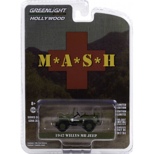 Greenlight Hollywood Series 30 - 1942 Willys MB Jeep