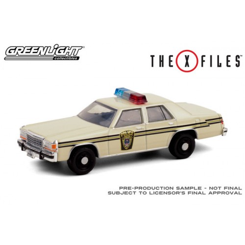 Greenlight Hollywood Series 30 - 1983 Ford LTD Crown Victoria Police Car