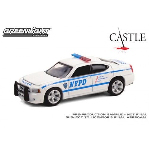 Greenlight Hollywood Series 30 - 2006 Dodge Charger LX Police Car