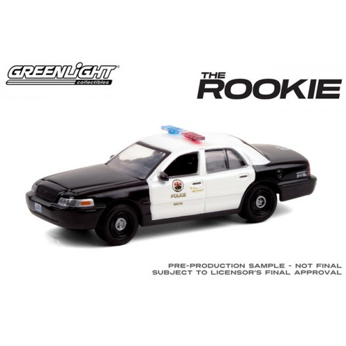 Greenlight Hollywood Series 30 - 2008 Ford Crown Victoria Police Interceptor