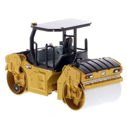 Diecast Masters CAT CB-13 Tandem Vibratory Roller with ROPS