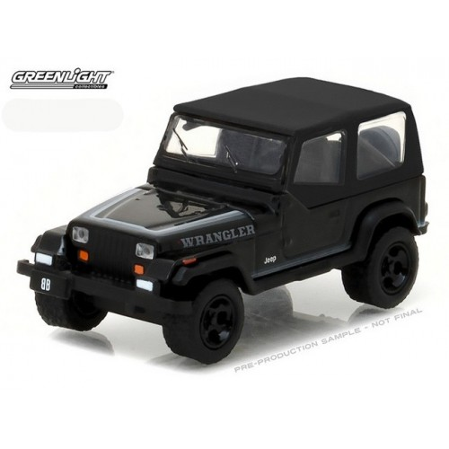 Black Bandit Series 17 - 1989 Jeep Wrangler