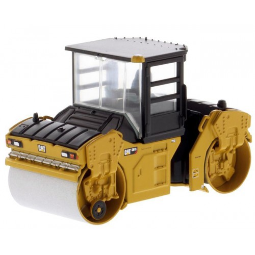 Diecast Masters CAT CB-13 Tandem Vibratory Roller with Cab