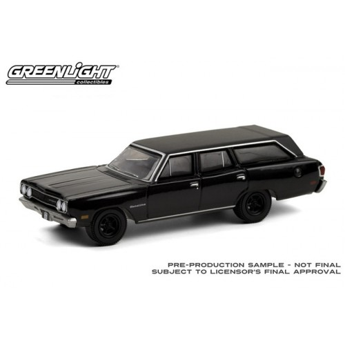 Greenlight Black Bandit Series 24 - 1970 Plymouth Satellite Station Wagon