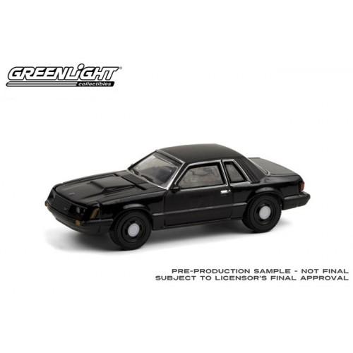 Greenlight Black Bandit Series 24 - 1982 Ford Mustang SSP
