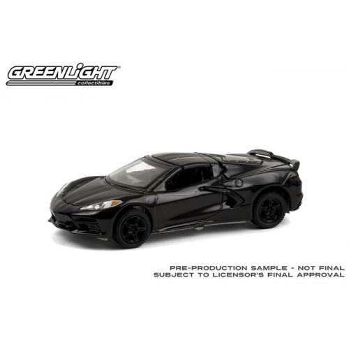 Greenlight Black Bandit Series 24 - 2020 Chevrolet Corvette C8 Stingray