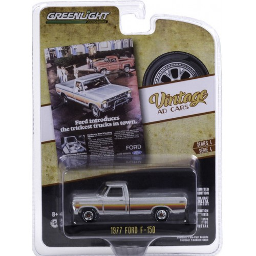 Greenlight Vintage Ad Cars Series 4 - 1977 Ford F-150 Truck