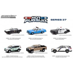 Greenlight Hot Pursuit Series 37 - Six Car Set