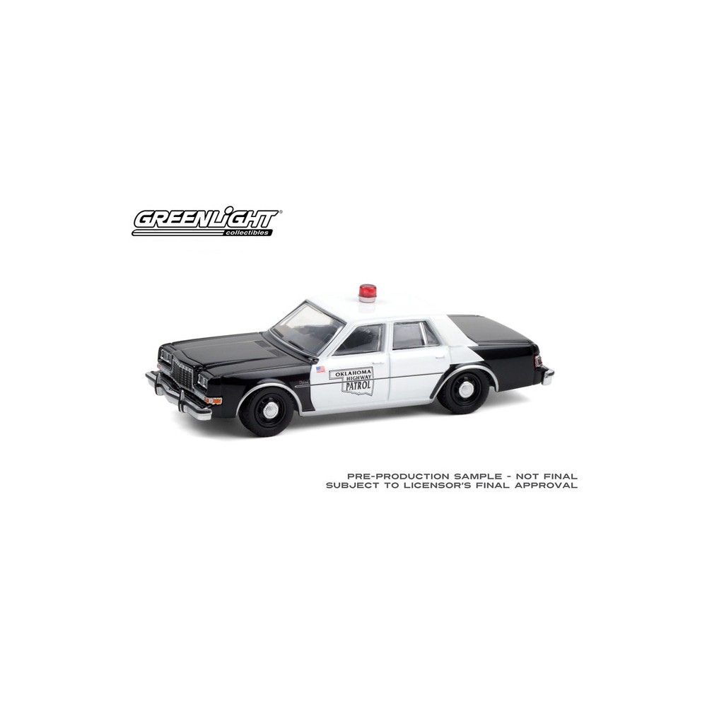 Greenlight Hot Pursuit Series 37 - 1985 Dodge Diplomat