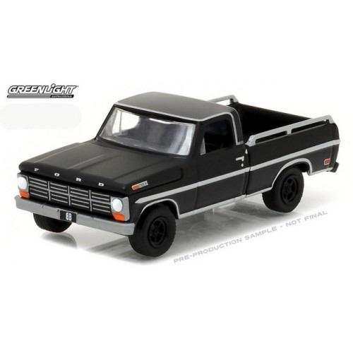 Black Bandit Series 17 - 1968 Ford F-100