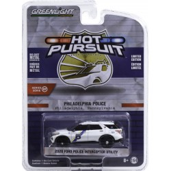 Greenlight Hot Pursuit Series 37 - 2020 Ford Police Interceptor Utility