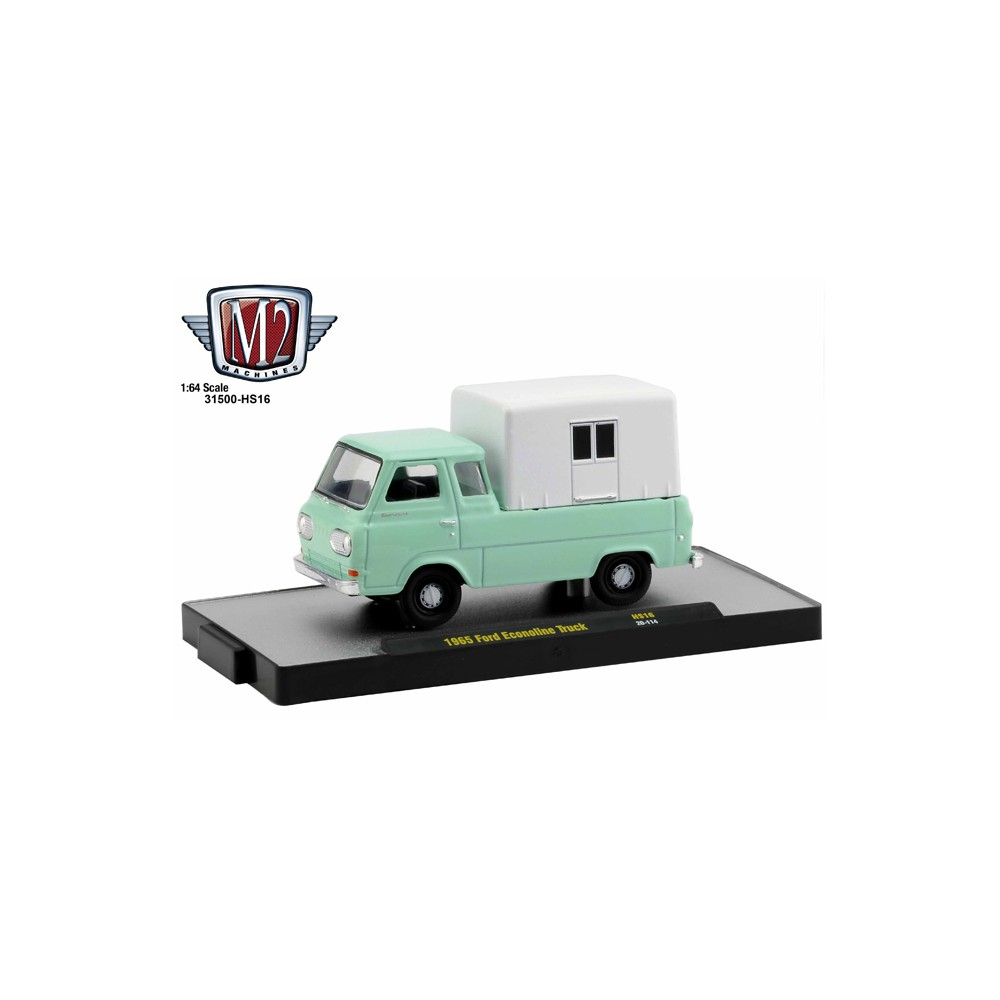 M2 Machines Hobby Exclusive - 1965 Ford Econoline Truck with Camper