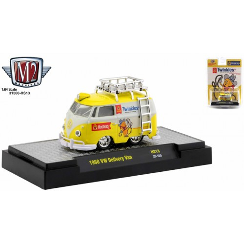 M2 Machines Hobby Exclusive - 1960 Volkswagen Delivery Van Twinkies