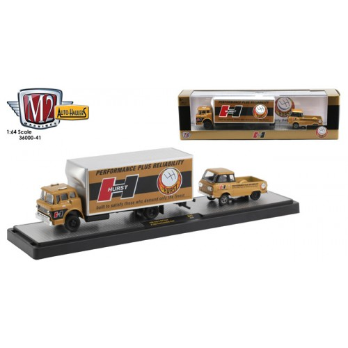 M2 Machines Auto-Haulers Release 41 - 1965 Ford C-950 and 1965 Ford Econoline Truck