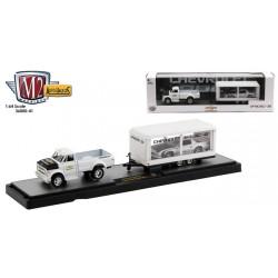 M2 Machines Auto-Haulers Release 41 - 1970 Chevrolet C60 Truck and 1985 Chevrolet Camaro