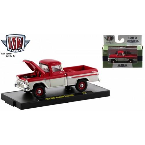 M2 Machines Auto-Trucks Release 63 - 1959 GMC Fleetside Truck