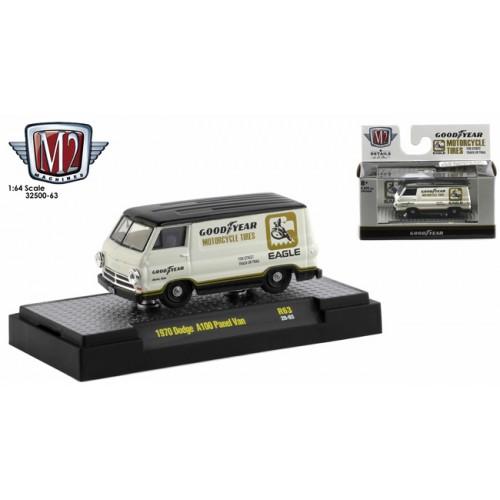 M2 Machines Auto-Trucks Release 63 - 1970 Dodge A100 Panel Van