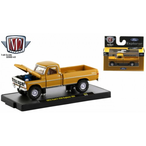 M2 Machines Auto-Trucks Release 63 - 1972 Ford F-250 Explorer 4x4