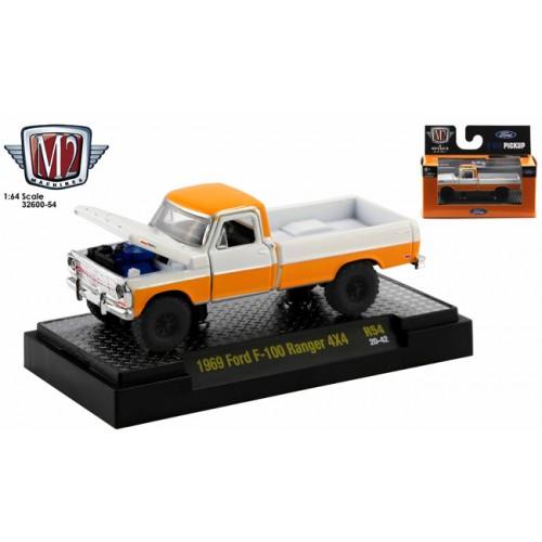 M2 Machines Auto-Meets 54 - 1969 Ford F-100 Ranger 4x4 Truck