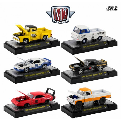 M2 Machines Auto-Meets 54 - Six Car Set