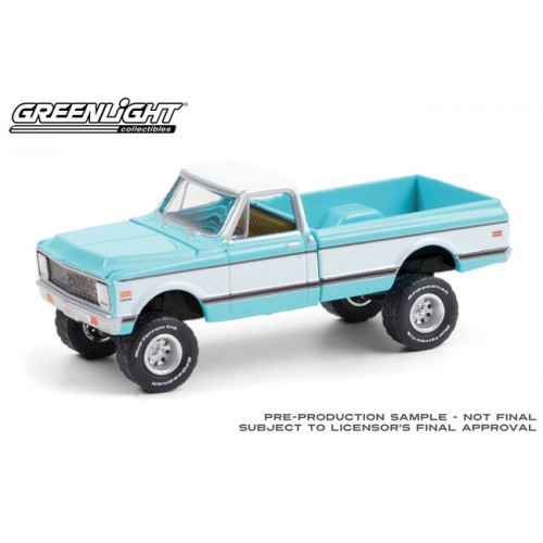 Greenlight Barrett-Jackson Series 6 - 1972 Chevrolet K-10 4x4 Pickup Truck