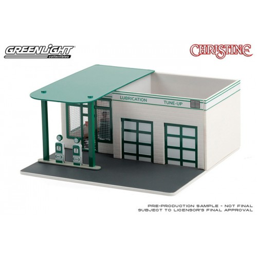 Greenlight Mechanics Corner Series 7 - Vintage Gas Station Christine