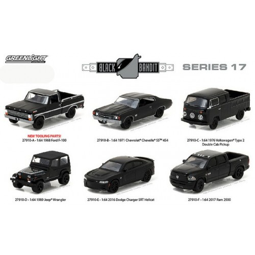 Black Bandit Series 17 - SET