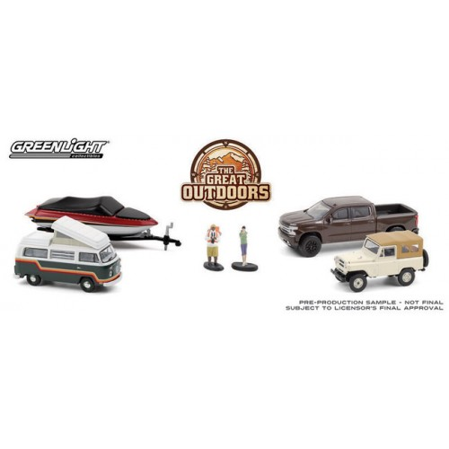 Greenlight Multi-Car Diorama - The Great Outdoors