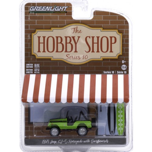 Greenlight The Hobby Shop Series 10 - 1971 Jeep CJ-5 Renegade II