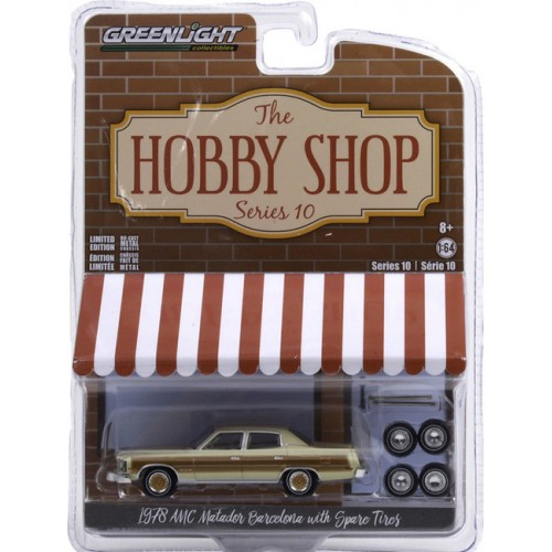 Greenlight The Hobby Shop Series 10 - 1978 AMC Matador Barcelona